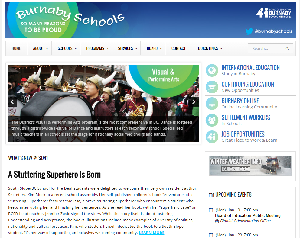 burnaby-school-board-website
